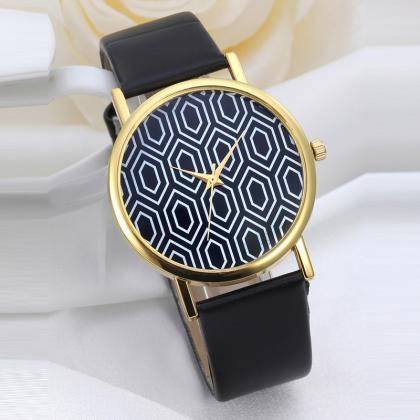Style watch, style leather watch, l..