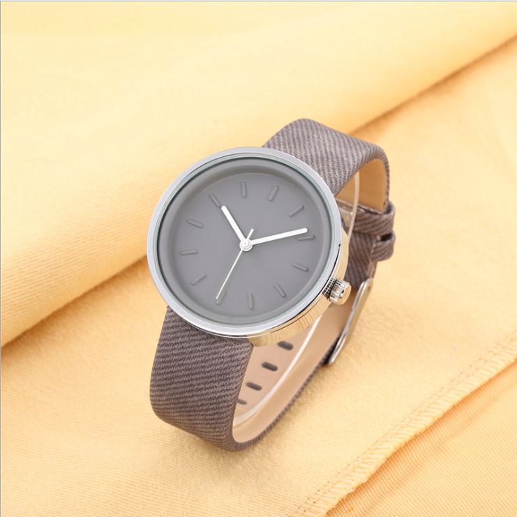 Simple Design Leather Watch, Bracelet Watch, Vintage Watch, Retro ...