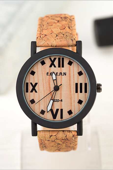 Wood pattern waterproof leather watch, bracelet watch, vintage watch, retro watch, woman watch, lady watch, girl watch, unisex watch, AP00626