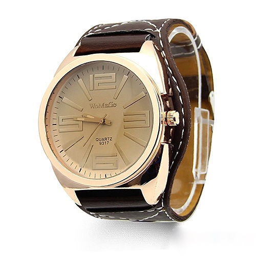 Mens Classic Quartz Watch, Brown Leather Watch, Style Leather Watch, Bracelet Watch, Vintage Watch, Retro Watch, Woman Watch, Lady Watch, Girl Watch, Unisex Watch, AP00225